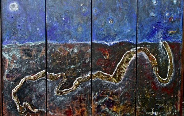 Serpent and the Blue Sky IX